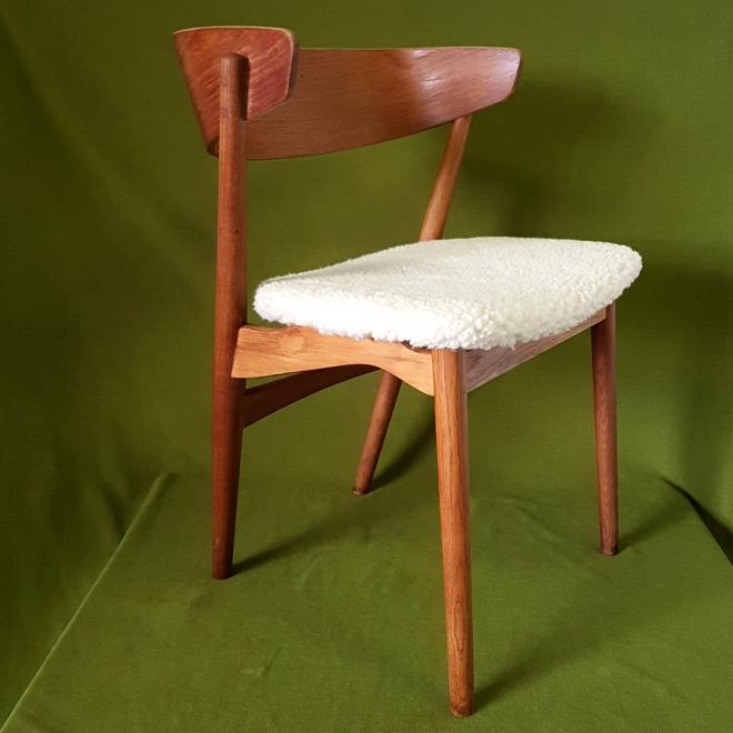 Retrospect - Helge Sibast number 7 side chair danish design mid century deens vintage teak (1)