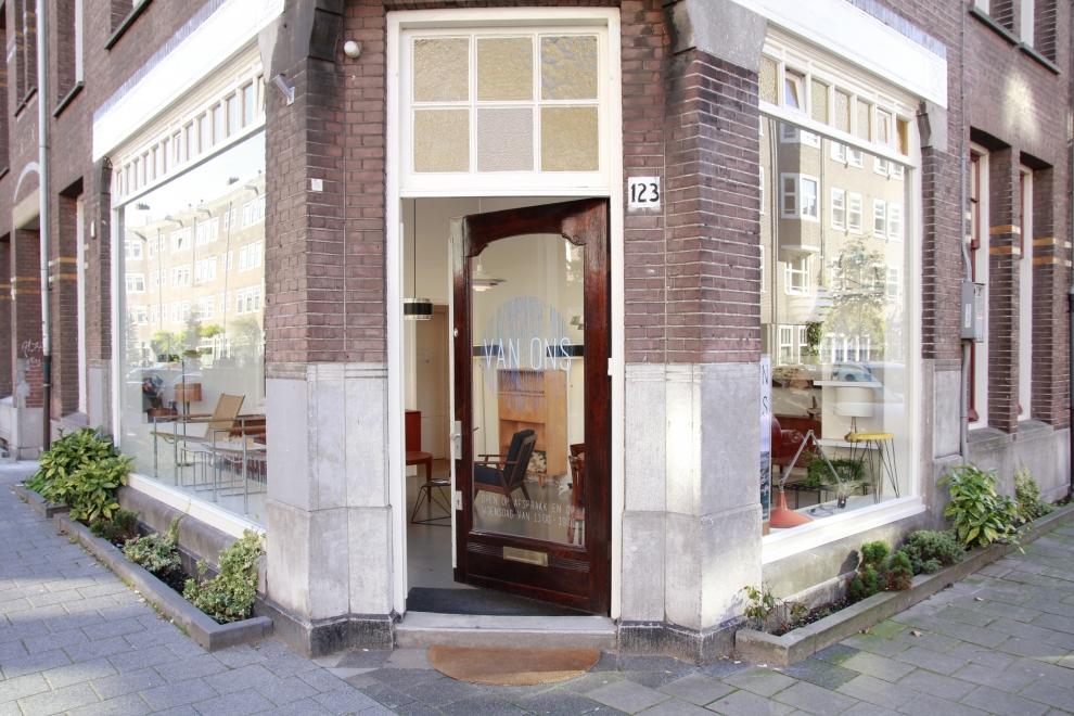 VAN ONS mid century modern design meubels Amsterdam