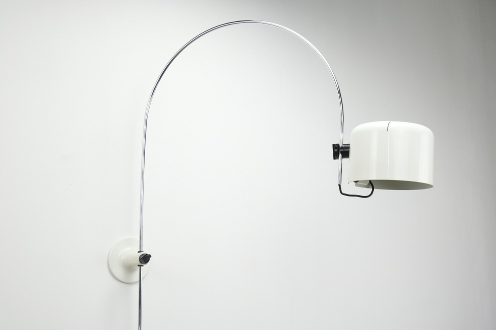 Vintage Coupé 1158 wall lamp Joe Colombo Oluce Italy 1968 - Mid century Italian lighting 1