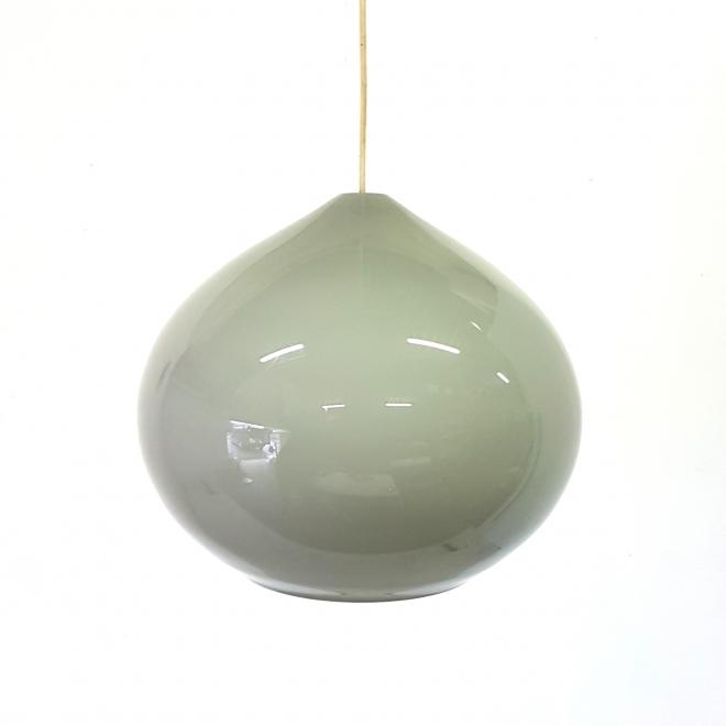 Retrospect - danish glass pendant vintage mid century minimalist