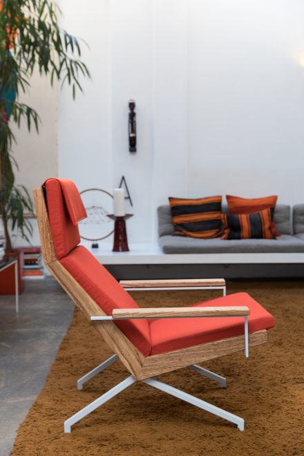 Rob Parry Originals Lotus Lounge chair design icon